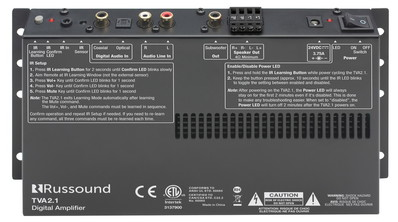 Усилитель Russound TVA2.1 Digital Two-Channel